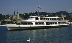 "SGV motor ship ""Winkelried"" Luzern (jc_snapper) Tags: winkelried sgv switzerland vierwaldstättersee lakelucerne lucerne luzern ship"