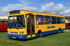 M455 LLJ (markkirk85) Tags: south east bus festival buses dennis dart lancs yellow new bournemouth 41995 455 m455 llj m455llj