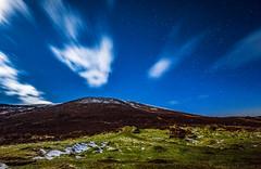 Cairngorms National Park (Daniel Zwierzchowski) Tags: cairngorms national park aviemore mountains night scotland uk sky clouds longexposure stars snow nature landscape canon t2i rebel eos550d eos 550d outdoor