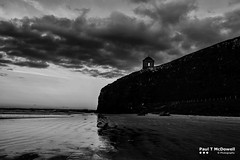 downhill to mussenden (Paul T McDowell Photography) Tags: 2016 autumn beach blackandwhite blackandwhitephotography bright camera canonef35mmf2isusm canoneos5dmarkii cloudy countylondonderry digital downhill downhillstrand fineartphotography horizontal image landscape landscapephotographer lens northernireland orientation outdoor paultmcdowellphotography photography places sand sea seascape season sunny sunset time unitedkingdom weather year