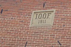 Odd Fellows Building, Lakeview, OR (Robby Virus) Tags: lakeview oregon or odd fellows international order ioof building temple lodge fraternal organization brick