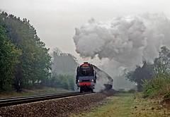 71000, Widney Manor, April 1990 (David Rostance) Tags: 71000 brstandard widneymanor middayscot dukeofgloucester
