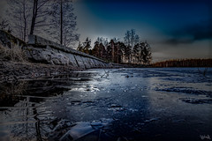 Weak ice (JimTH53) Tags: ice water