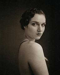 Portrait of Devon (ray_bidegain) Tags: sinar platinum pyrocathd palladium portrait handmade fp4 female fineart film raybidegain bidegain