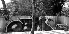 graffiti and streetart in chiang mai (wojofoto) Tags: graffiti streetart thailand chiangmai wojofoto wolfgangjosten obk blackandwhite zwartwit