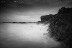 Rhosneigr Bay - High Tide (.Brian Kerr Photography.) Tags: rhosneigr a7rii anglesey sony rocks beach wales coastal seascape photography outdoor outdoorphotography nature naturallandscape natural briankerrphotography briankerrphoto mono blackandwhite wild hightide photo northwales