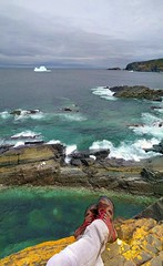 Icebergs at Pouch Cove (Rabbittownie) Tags: st johns newfoundland labrador canada pouch cove iceberg