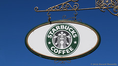 Starbucks Coffee (Gerard Donnelly) Tags: sign enseigne