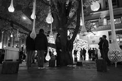Urban Cocoon (- yt -) Tags: winter light night melbourne citysquare publicartinstallation urbancocoon