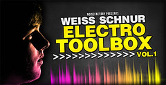 Weiss Schnur - Electro Toolbox Vol. 1 (Loopmasters) Tags: drums loops electro samples edm dubstep royaltyfree electrohouse loopmasters drumstep