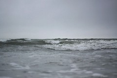 Stormy (katyjeann) Tags: ocean sea beach weather waves cloudy stormy canon50d
