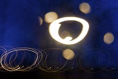 Running round in circles (Susanne Schuijt) Tags: longexposure blue light lightpainting night lighttrail