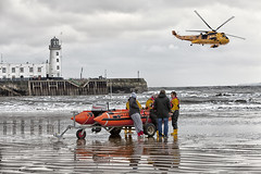 Air sea Rescue (J Tys) Tags: people lighthouse beach pier uniform yorkshire lifeboat scarborough hdr northyorkshire airsearescue hdraddicted thebestofhdr hdrterrorist hdrworlds wwwjoyfulimagescouk