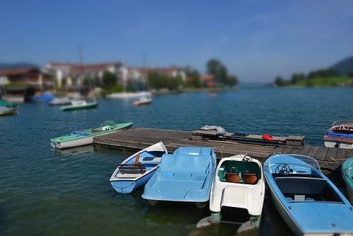 Boats at Tegernsee