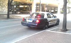 San Antonio PD (ynkefan1) Tags: white black ford san texas police victoria crown antonio department interceptor slicktop cvpi