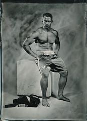 boxing (Ilya Egorkin) Tags: ambrotype altprocess 13x18 wetplatecollodion