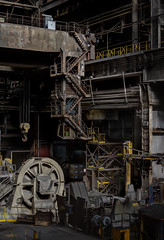 Lost and Foundry (Muddy Funkster) Tags: industry metal rust industrial crane steel explore machinery works exploration ue molten urbex
