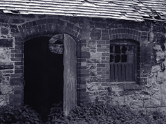 Abandoned 9 (suzanna_hughes) Tags: urban white black abandoned farmhouse landscape cottage exploration asylum denbigh urbanex