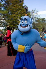 IMG_5530 (onnawufei) Tags: parade disneyworld wdw aladdin waltdisneyworld magickingdom genie thegenie