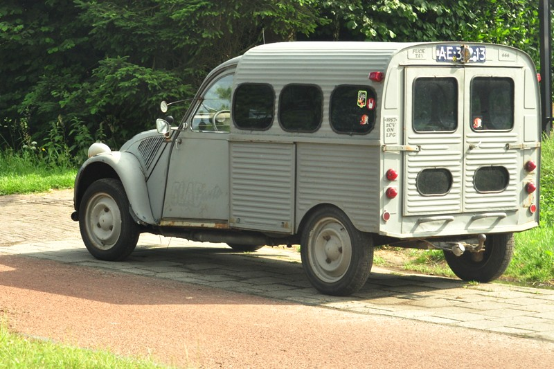 2cv fourgonnette glacauto