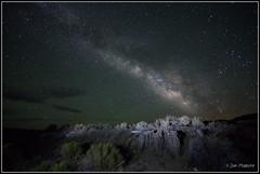 Milky Way over Navy Beach 7094 (maguire33@verizon.net) Tags: california stars unitedstates galaxy nightsky monolake tufa milkyway leevining navybeach sandtufa canon14mmf28lii