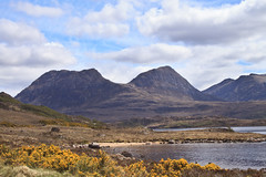 Ben More Coigach (maureen bracewell) Tags: mountains landscape scotland highlands cannon loch benmorecoigach scotland2013