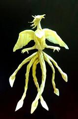 Origami Phoenix V.2 (Neelesh K) Tags: phoenix origami origamiphoenix
