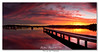 Bolton Point Sunset - 28-07-2013_Panorama1 (DoctorJ73) Tags: sunset panorama sun lake water canon point eos james pier boat pano jetty wharf bolton nsw 7d danny sundance macquarie
