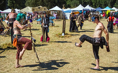 Faerieworlds (2013)_Cosplay performers (Swallia23) Tags: facepainting costume wings cosplay or bubbles eugene masks topless bodypainting performers camps faeries mtpisgah misters faerieworlds 2013 neverworlds