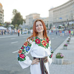 "Ukrainian girl wearing traditional clothes<a href=""http://www.flickr.com/photos/28211982@N07/9485238452/"" target=""_blank"">View on Flickr</a>"