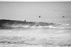 Liquid Silver (Ale Romo) Tags: bw spain surf waves salinas longboard vanssalinaslongboardfestival silverafternoon