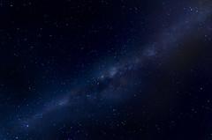 Via Lactea (Chechi Pe) Tags: longexposure blue sky azul night stars outside pho