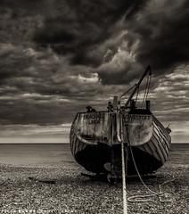 Aldeburgh Seascape (Peter&JaneBurns) Tags: england seascape canon blackwhite suffolk 7d toned aldeburgh peterburnsphotography