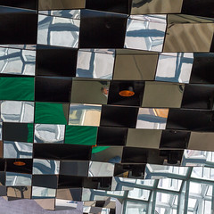 Harpa 15 (USpecks_Photography) Tags: abstract reflection architecture canon square iceland reykjavik ceiling modernarchitecture concerthall harpa canon7d henninglarsenarchitectsolafureliasson