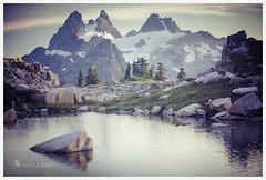 3106. (koaflashboy) Tags: reflection canon5d tarn chimneyrock alpinelakeswilderness tanklakes overcoatpeak