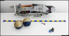 WIP - TEMBER 1 (Pierre E Fieschi) Tags: art ship lego pierre space wip concept microspace fieschi microscale microspacetopia pierree shiptember wiptember