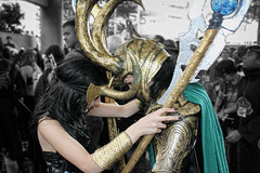 locking horns alt (greyloch) Tags: costumes humorous cosplay humor loki otakon comicbookcharacter moviecharacter 2013 comicbookcostume moviecharactercostume rule63