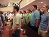Men of Hillcrest worshipping at the Strength of Champion men's conference August 2013