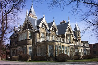 Oakland Mansion ~ Gothic Architecture ~ De La Salle Victorian Castle AKA ~ Heritage Protection