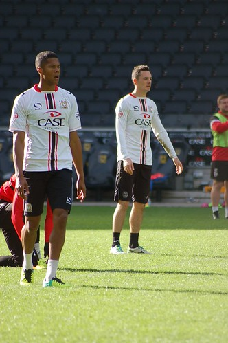 MK Dons Training Day 29th Oct 13 (70)