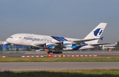 9M-MNE at Heathrow