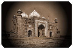 Agra IND - Jawab Taj Mahal west side 02