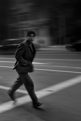 the day we met~ Shanghai (~mimo~) Tags: china man blur lines walking movement alley asia shanghai streetphotography panning icm jewishghetto mimokhairphotography