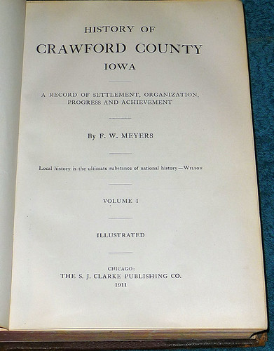 History Of Crawford County Iowa 1911 (7)