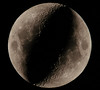 Photo just in of the back side of moon, provides proof the moon is hollow and a giant hangar for alien craft. (Tachyonfound) Tags: moon orsonwells governmentcoverup holeinthemoon