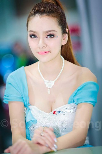 Pretties at 30th Thailand International Motor Expo 2013 @ Bangkok, Thailand