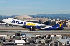 Atlas Air Boeing 747-8F N854GT (jbp274) Tags: airport airplanes cargo atlas boeing lax 747 atlasair klax 5y