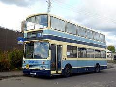 E9 WJC Leyland Lion Alexander RH (miledorcha) Tags: nottingham bus buses carson lion scottish marshall trent kelvin alexander sutton sbg leyland nct psv pcv rh wjc clydeside coatbridge 398 rhtype e9wjc e938cds a3yrr ldtl111r