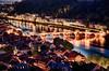 Heidelberg Old Town (Lars Kehrel) Tags: old longexposure bridge light night licht town pentax nacht alt sigma lars stadt romantic bluehour heidelberg brücke 1770 altstadt oldtown hdr neckar k5 romantik langzeitbelichtung blauestunde oldbridge romantisch altebrücke kehrel larskehrel ostrellina