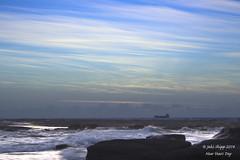 Soldiers Beach Rock Shelf (tismeau) Tags: water sunrise rocks waves australia nsw norahhead soldiersbeach